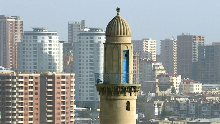 Azerbajdzjans huvudstad Baku