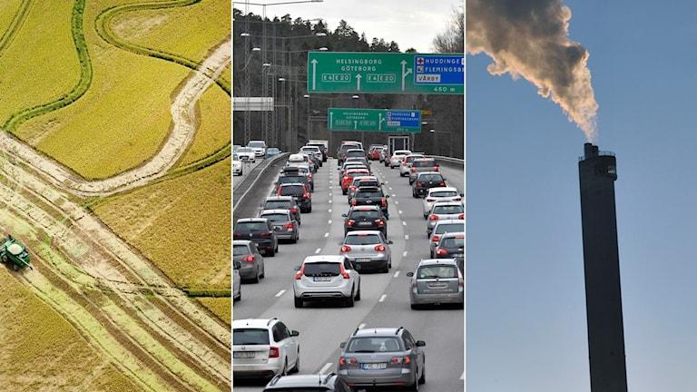 Klimat miljö utsläpp