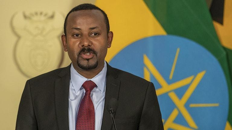 Etiopiens premiärminister Abiy Ahmed.