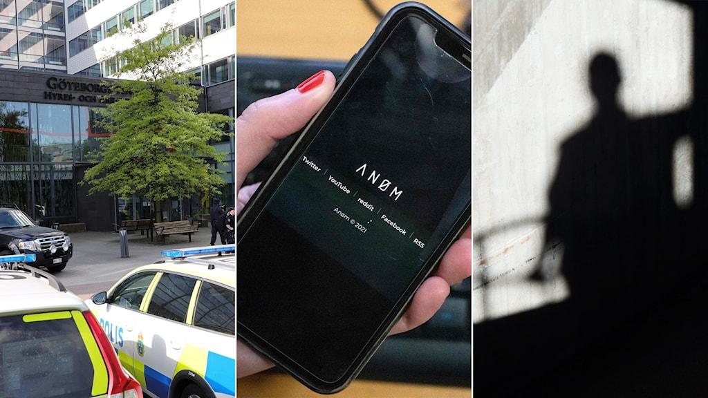 Göteborgs tingsrätt, anom-mobil, skugga