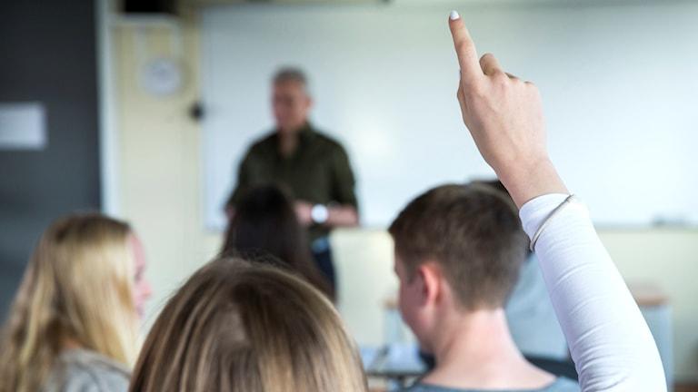 Klassrum elever lärare