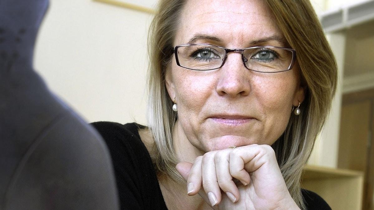 Kristina Ahlinder, vd för Svenska Förläggareföreningen. Foto: Dan Hansson/Scanpix.