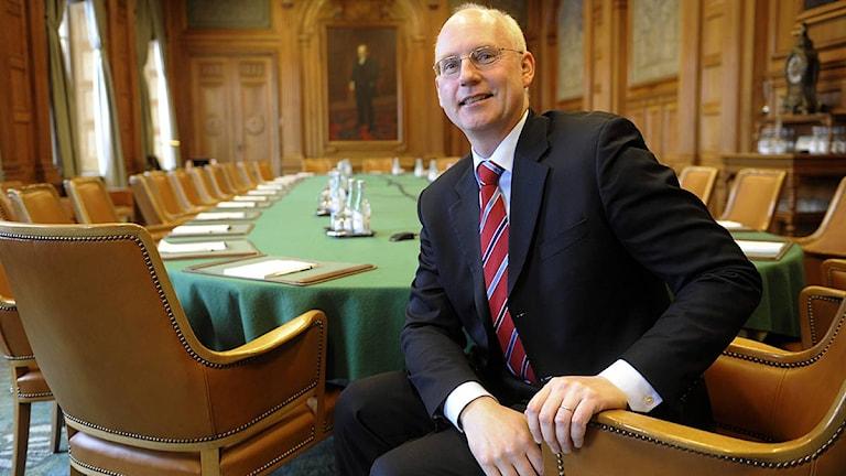 Pär Boman, vd för Handelsbanken. Foto: Leif R Jansson/Scanpix.