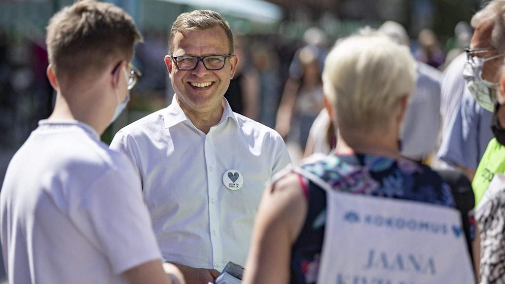Samlingspartiets ordförande Petteri Orpo