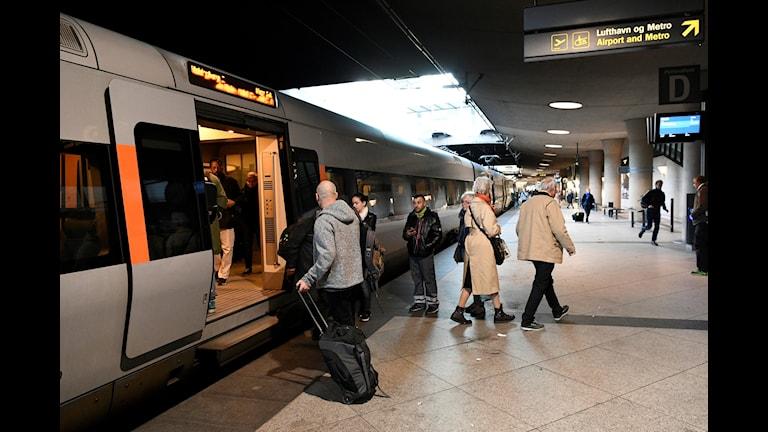 Kastrup station. Foto: Johan Nilsson/TT
