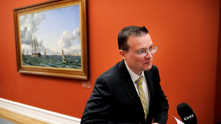 Dansk Folkepartis talesperson i Eu-frågor Kenneth Kristensen Berth