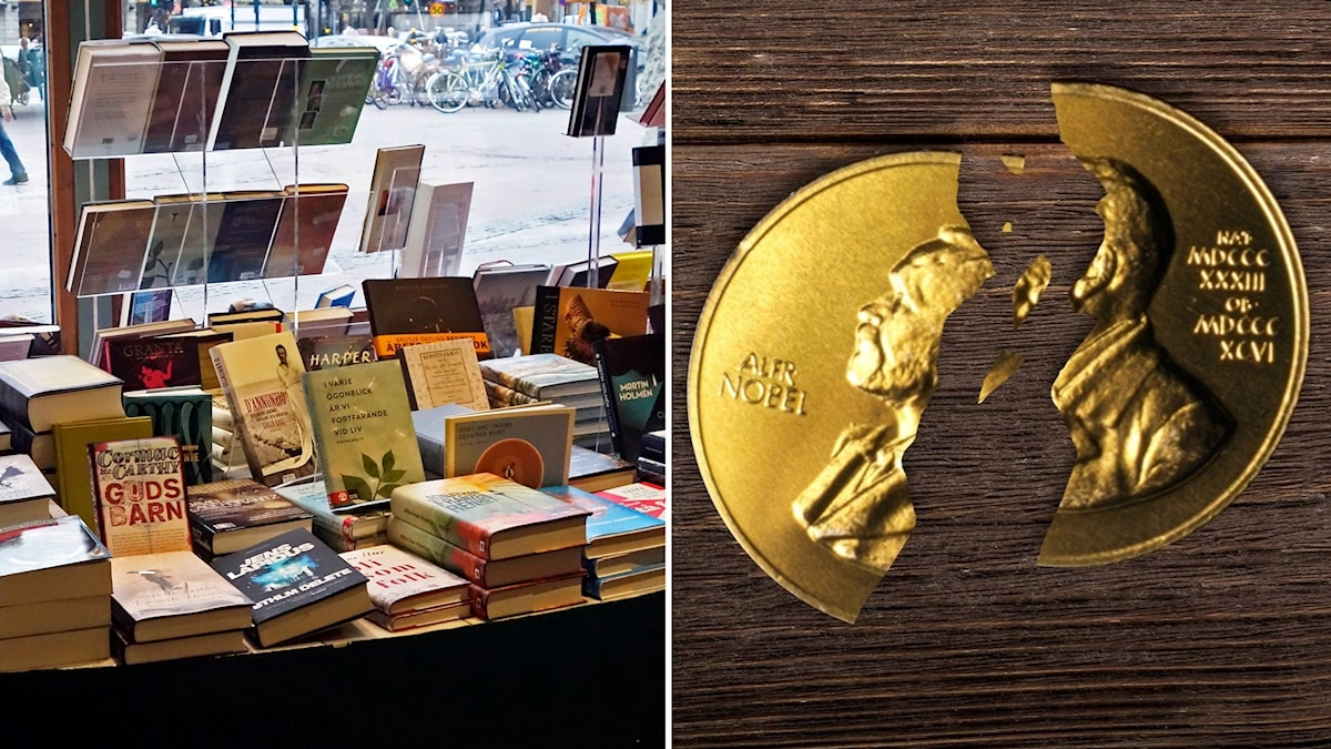 Book shops are losing out by the cancellation of the Nobel literature prize that would of normally been awarded today.