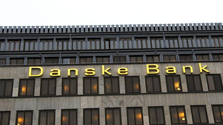 Danske Banks huvudkontor i Stockholm. Foto: Hasse Holmberg/Scanpix.