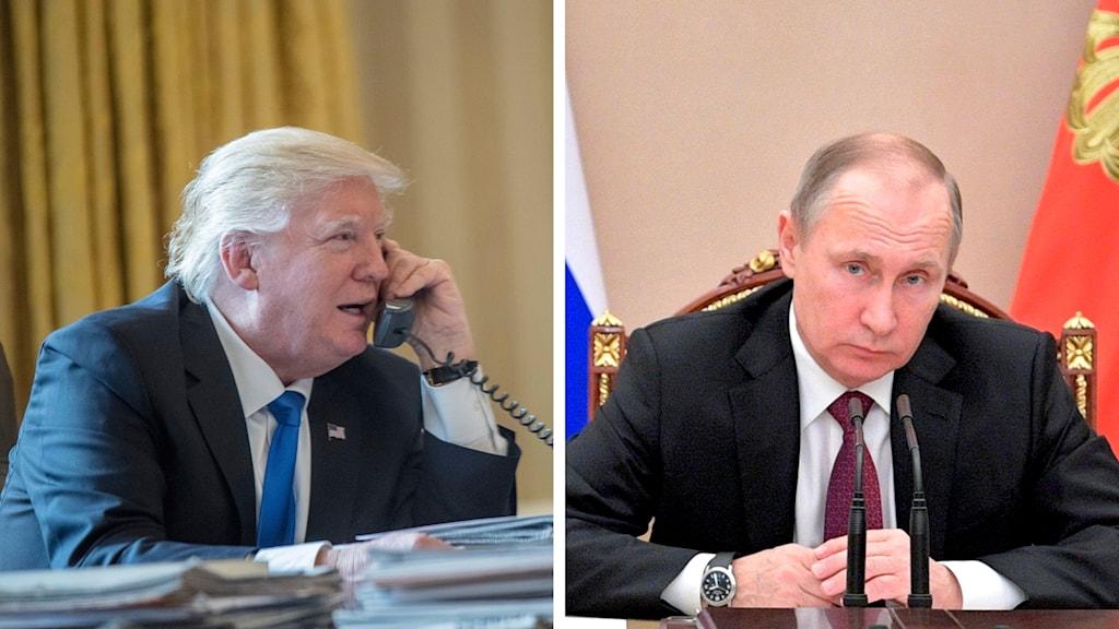 Telefonsamtalet mellan ryske presidenten Vladimir Putin och USA:s Donald Trump beskrivs av båda sidor som början på något helt nytt i relationerna. Men Moskvas förhoppning om hävda sanktioner ska inte ha tagits upp.