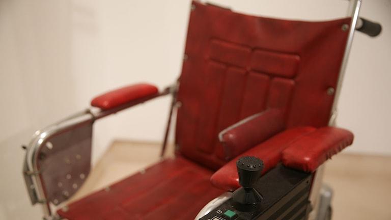 Stephen Hawking rullstol