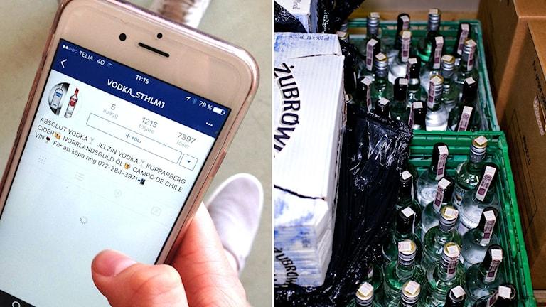 Polisen känner i dag till drygt 100 langningskonton på instagram.