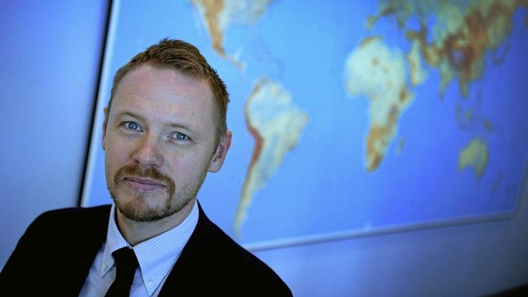 Björn Jerdén på Utrikespolitiska Institutet, UI.