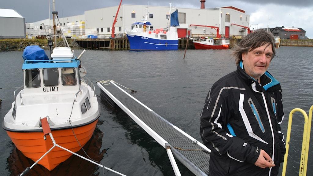 Den norska yrkesfiskaren Yngve Lassen