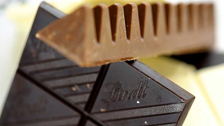 Olika sorters choklad. Foto: Anders Wiklund/Scanpix.