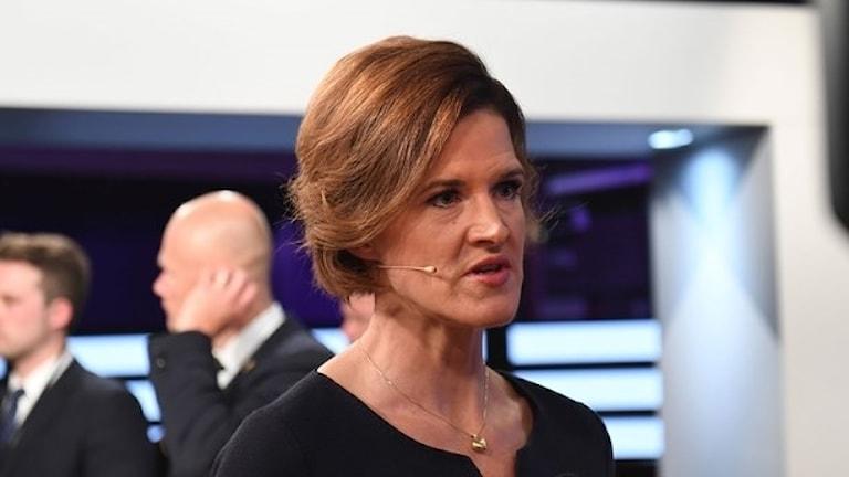 Anna Kinberg Batra, M:s partiledare.