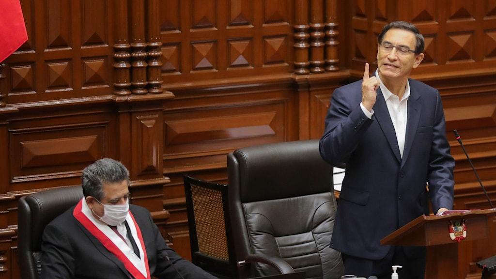 Perus president Martín Vizcarra.