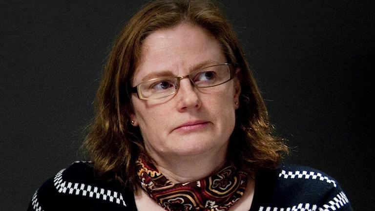 Margareta Eriksson är ordförande i Narkolepsiföreningen i Sverige. Foto: Pontus Lundahl/TT