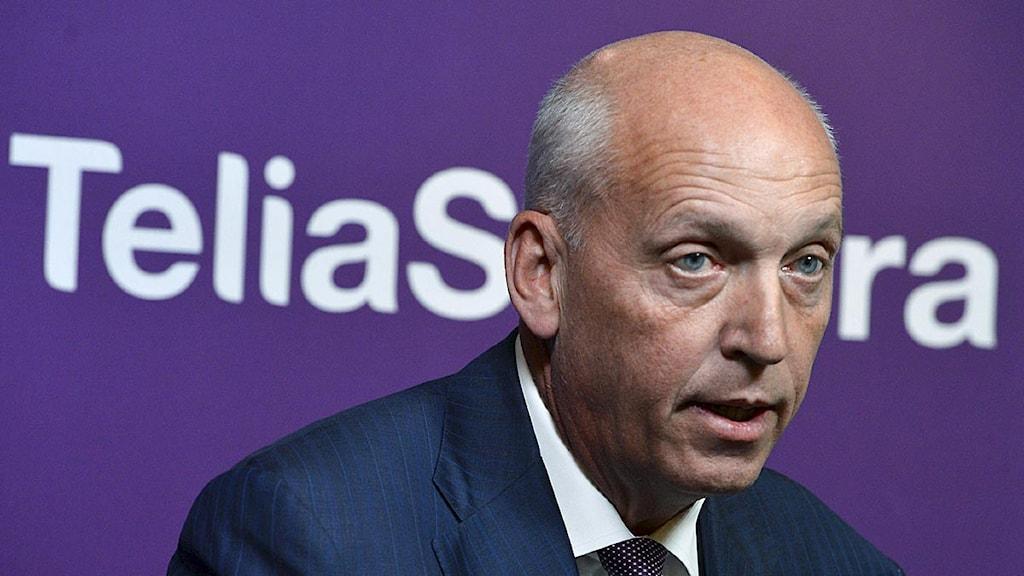 Lars Nyberg, vd Telia Sonera. Foto: Claudio Bresciani/Scanpix.