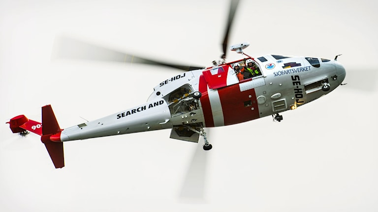 Sjöfatsverkets räddningshelikopter 902. Foto: Scanpix