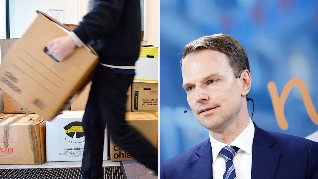 Flyttlådor och moderaten Peter-Danielsson