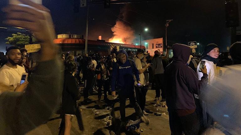 Proteser i Minneapolis