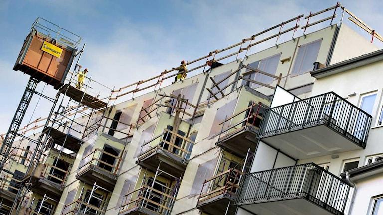 Nybyggda lägenheter vid Norra Djurgårdsstaden. Foto: Claudio Bresciani/Scanpix