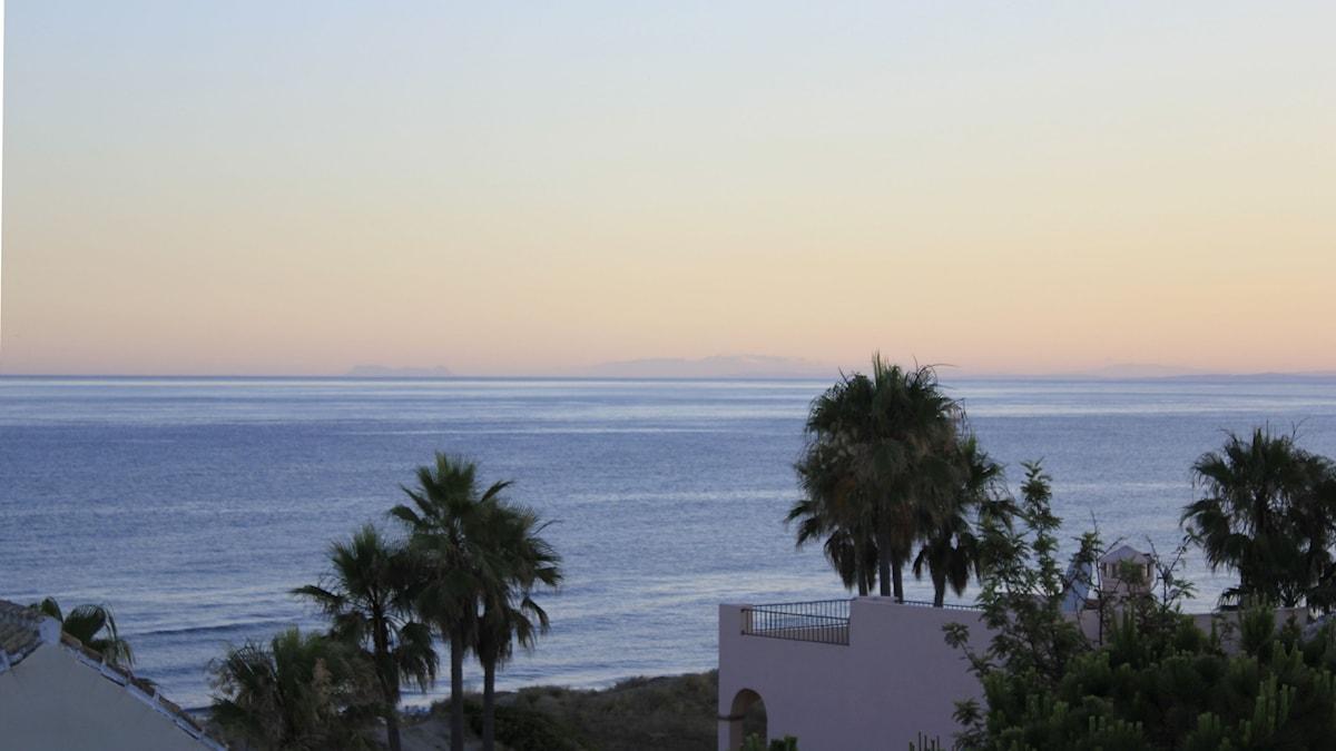 Vybild över Malaga.