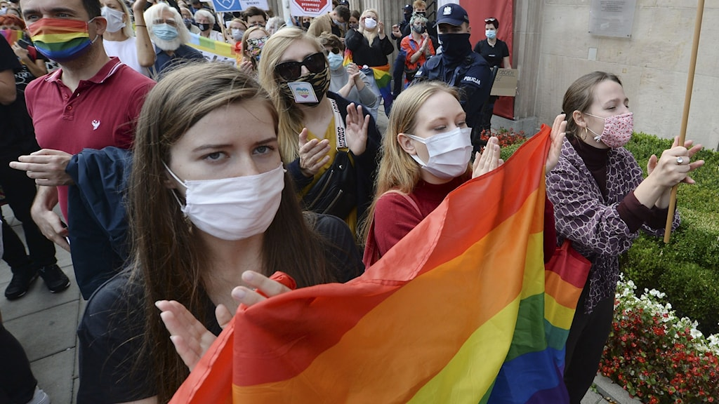 Demonstrationer i Polen.