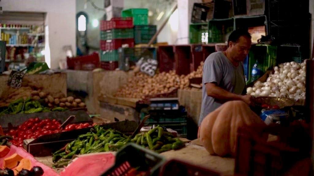 marknad i tunisien