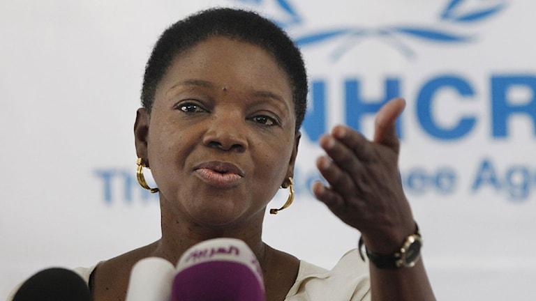 Valerie Amos, FN. Foto: Mohammad Hannon/Scanpix.