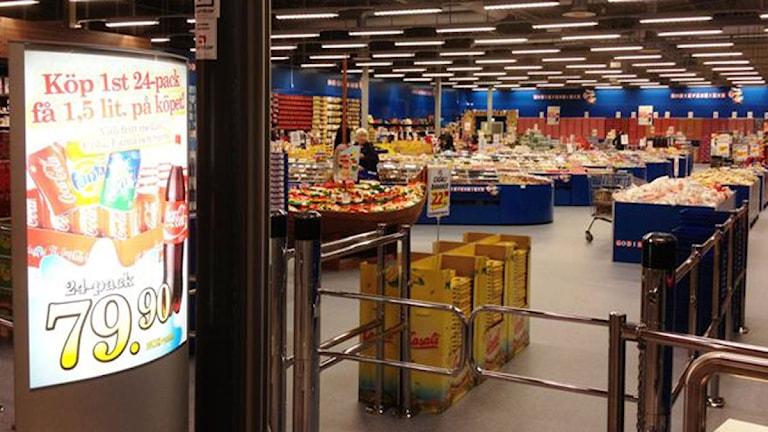 Charlottenbergs shoppingcenter.