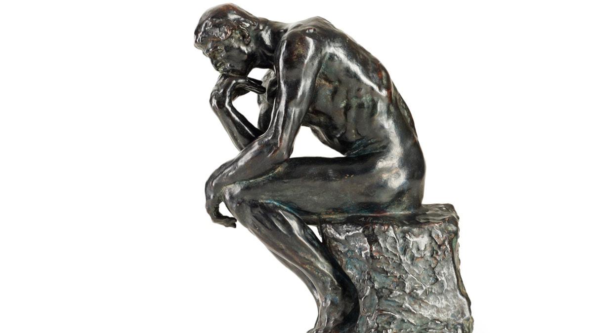 Tänkaren, Auguste Rodins kanske mest berömda skulptur.