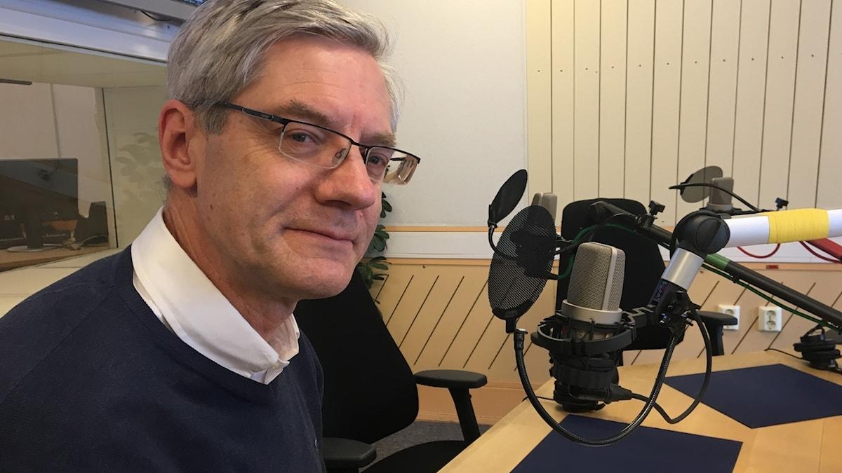 Magnus Hall, vd Vattenfall. Foto: Sveriges Radio.