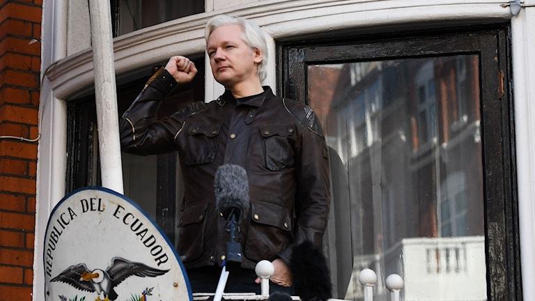 Wikileaks-grundaren Julian Assange.