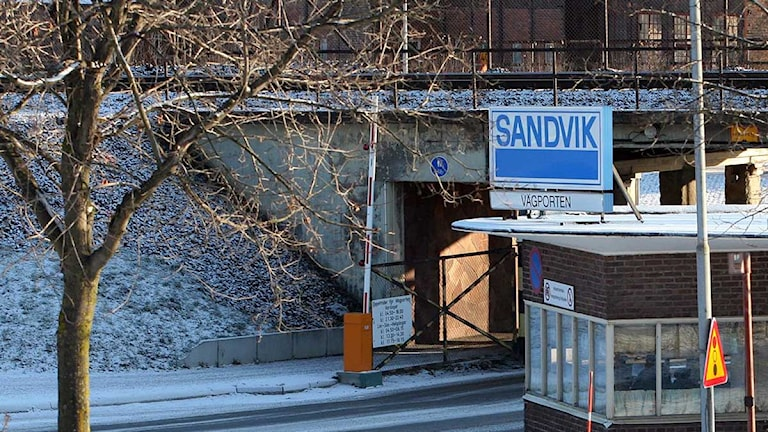 Verkstadskoncernen Sandviks fabrik i Sandviken. Foto: Mats Åstrand/TT