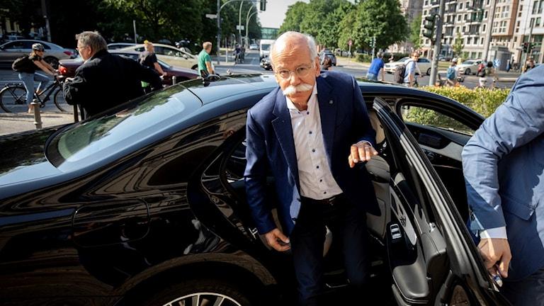 Daimler-chefen Dieter Zetsches