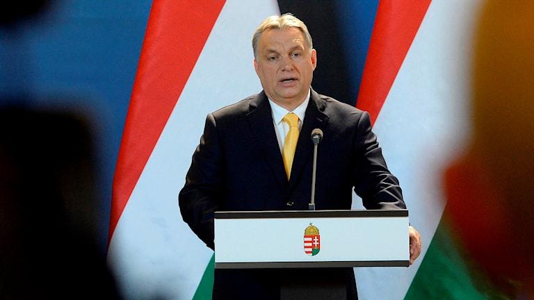 Ungerns premiärminister Victor Orban.