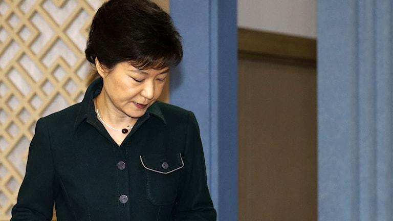 Park Geun-hye. Foto: Lee Jae-won/Scanpix.