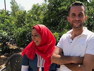Yamen Hamad i norra Gaza fruktar för sitt liv