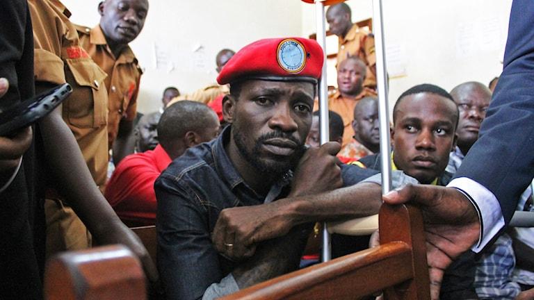 Robert Kyagulanyi är bättre känd under namnet Bobi Wine.