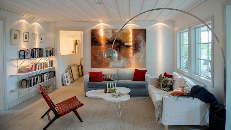 Lägenhet, vardagsrum