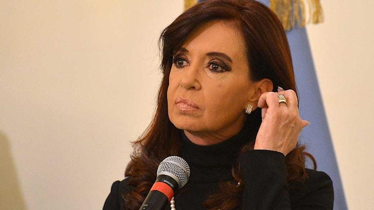 Argentinas president Cristina Fernandez de Kirchner. Foto: Alberto Pizzoli/Scanpix.