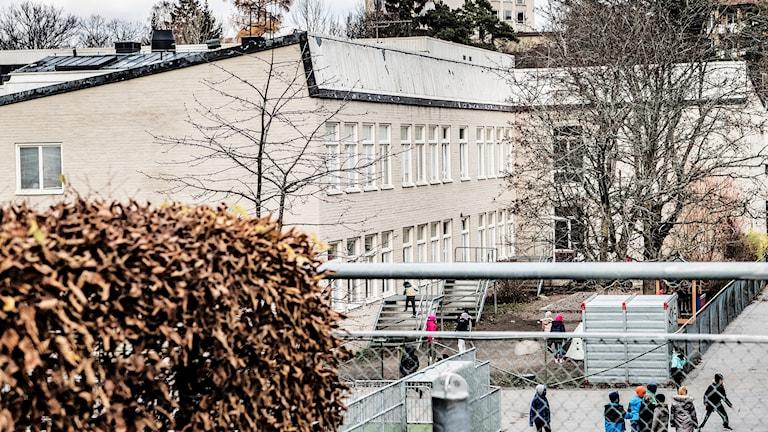 Al-Azhar, muslimsk friskola i västra Stockholm.