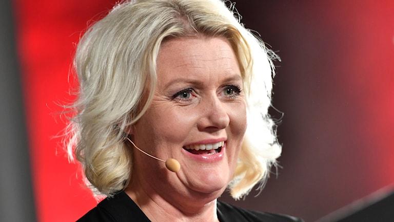 Partisekreterare Lena Rådström Baastad