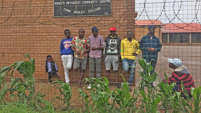 Sydafrika, asylsökande