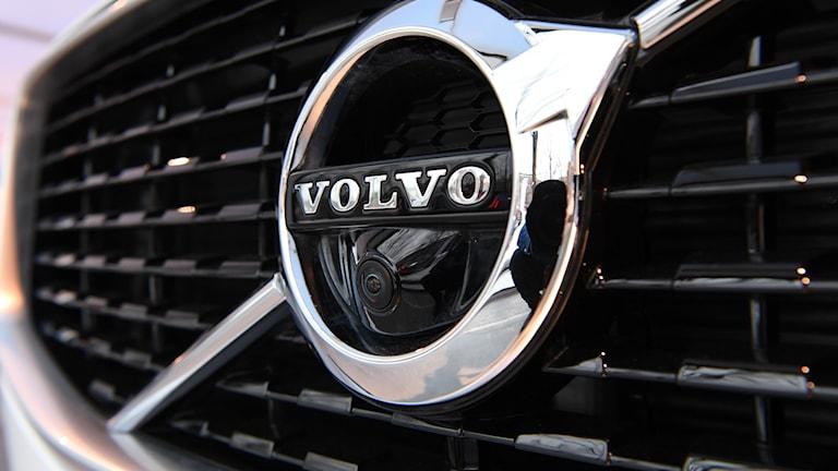 Volvos logotyp.