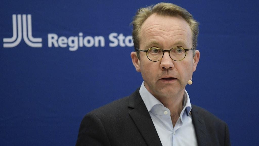 Björn Eriksson hälso- och sjukvårdsdirektör i Region Stockholm.