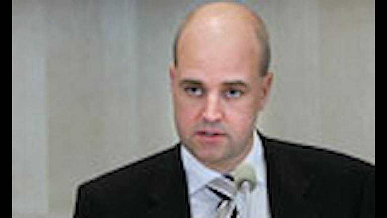 Riksdagens öppnande. Statsminister Reinfeldt avger regeringsförklaringen. Foto: Jonas Ekströmer/Scanpix