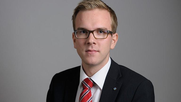 Andreas Carlson är rättspolitisk talesperson för Kristdemokraterna. Foto: TT