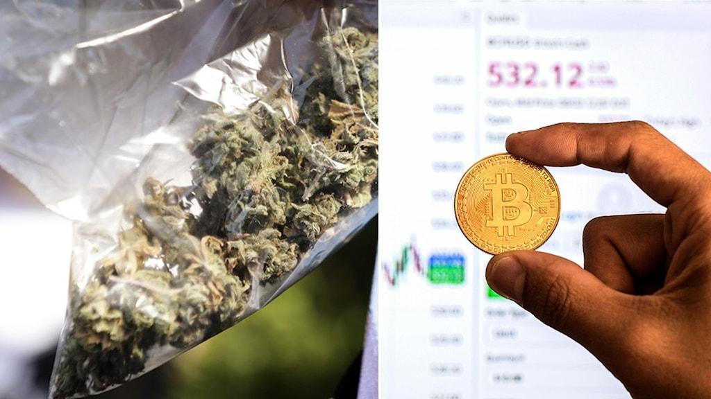 Bitcoin och cannabis